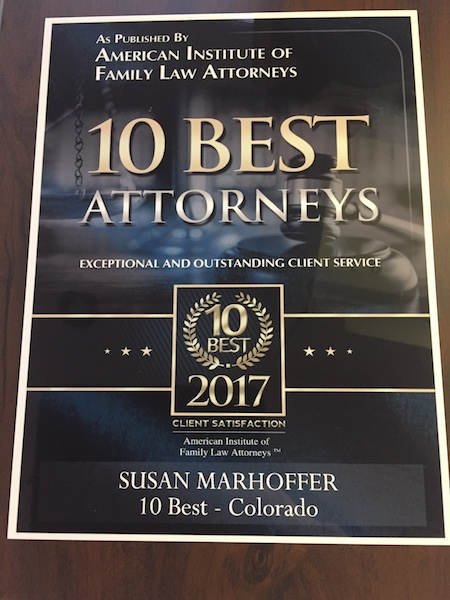 marhoffer law award